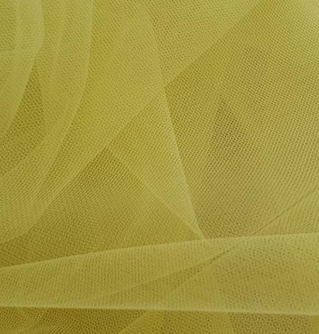Yellow tulle fabric. Photo 5