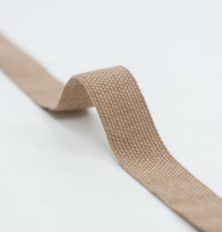 Brown lana wool ribbon . Photo 5