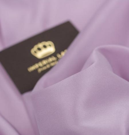 Lilac Brunelli viscose with elastane lining fabric . Photo 5