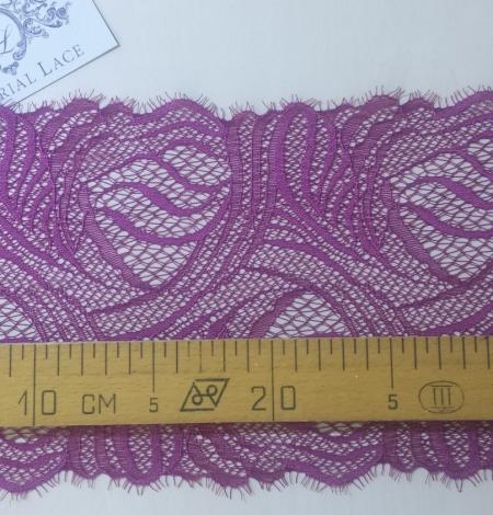 Dark Purple Lace Trim. Photo 4