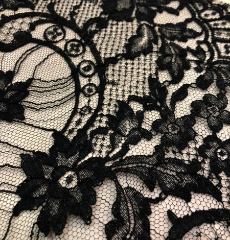 Black Solstiss lace trim. Photo 9