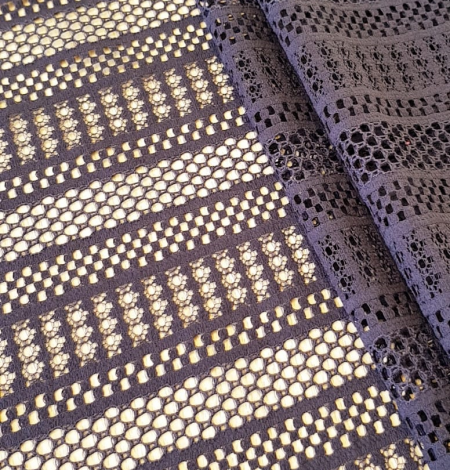 Purple lace fabric. Photo 3