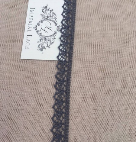 Grey lace trimming. Photo 1