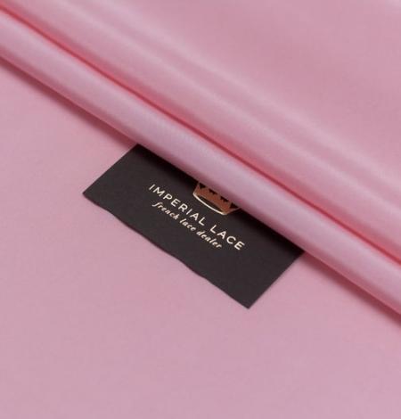 Pink silk lining fabric. Photo 4