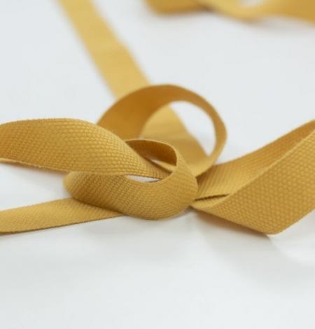 Mustard yellow decorative ribbon. Photo 5