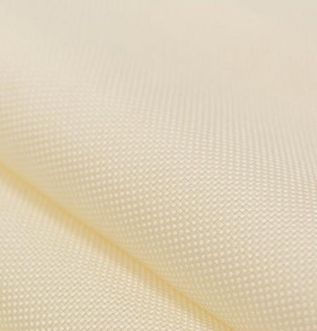 Creme color pure silk gazar fabric. Photo 3