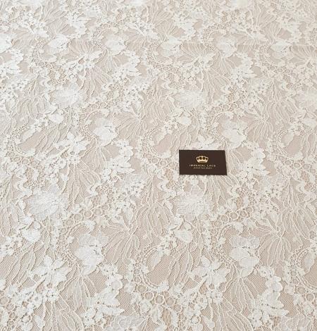 Ecru guipure lace fabric. Photo 8