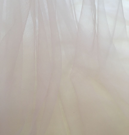Old rose tulle fabric. Photo 4
