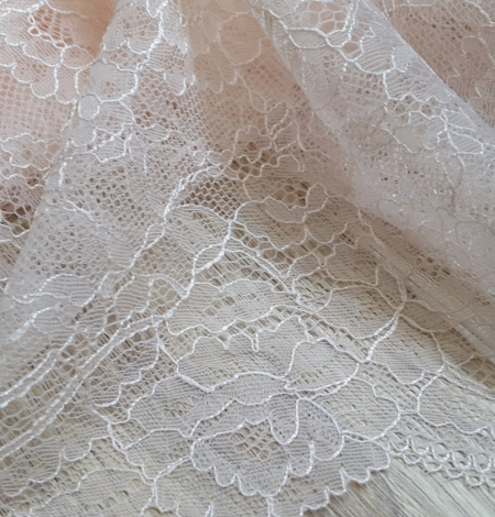 Light Pink Lace Trim. Photo 3