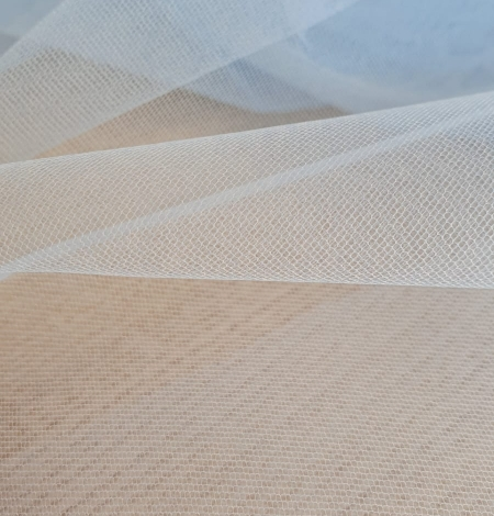 Blue tulle fabric. Photo 4