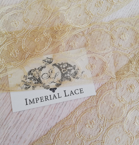 Gold lace trimming. Photo 3