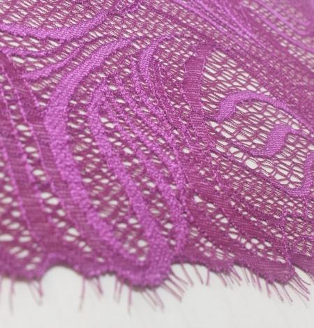 Dark Purple Lace Trim. Photo 3