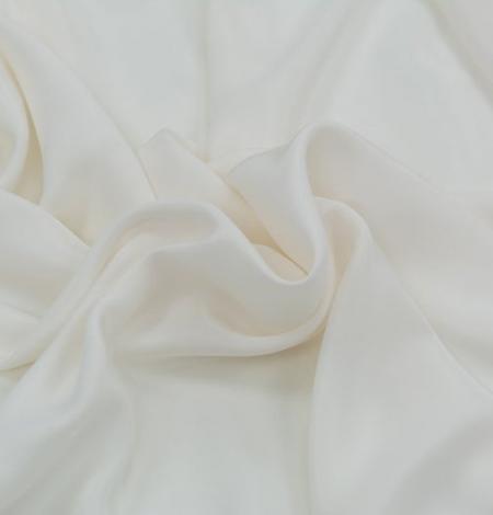 Ivory silk satin fabric . Photo 5