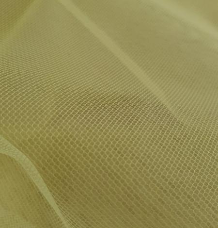 Yellow tulle fabric. Photo 6