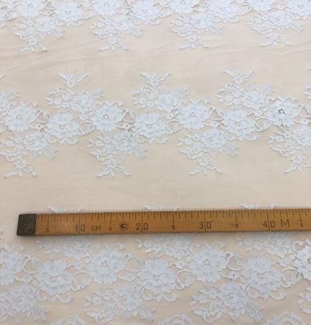 Gray lace fabric. Photo 9