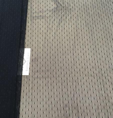 Black tulle fabric. Photo 5