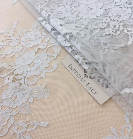 Gray lace fabric. Photo 7