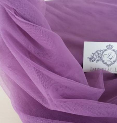 Old purple tulle fabric. Photo 4