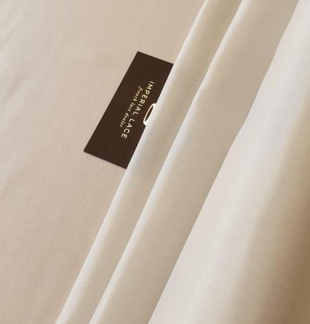 Light beige silk lining fabric. Photo 1