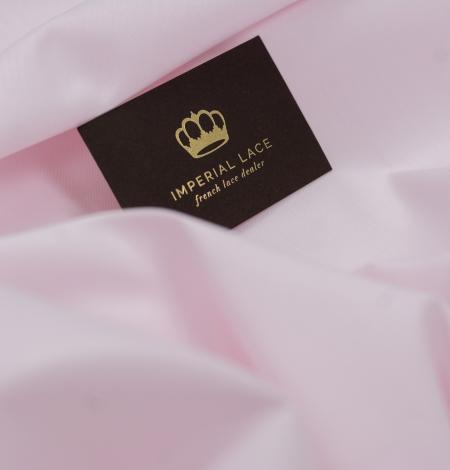 Light pink cotton fabric. Photo 3