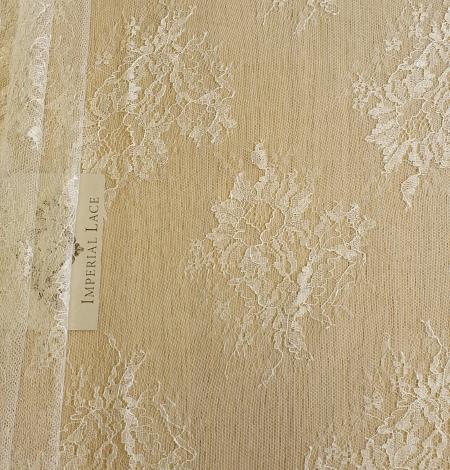 Ecru lace fabric. Photo 6