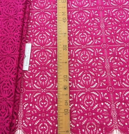 Fuchsia pink lace. Photo 6