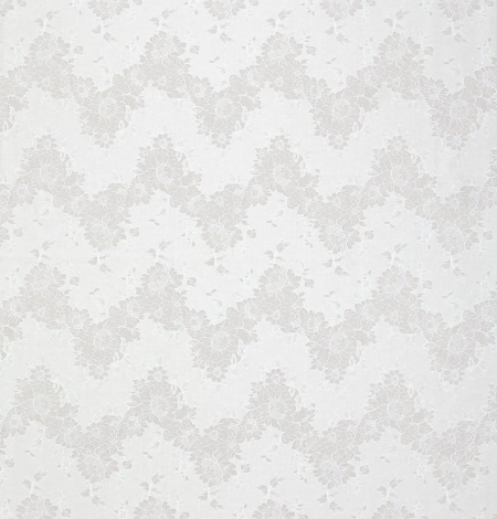 Ivory chantilly with fabric lace . Photo 4