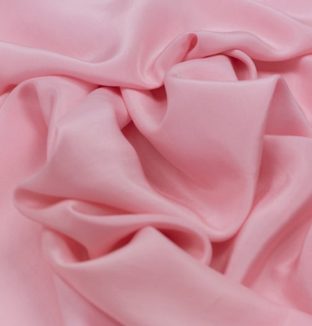 Pink silk lining fabric. Photo 3