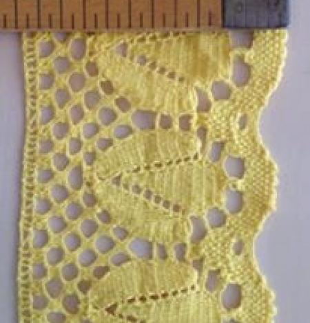Yellow Cotton trimming. Photo 5