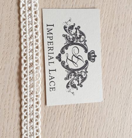 Ivory macrame lace trimming. Photo 4