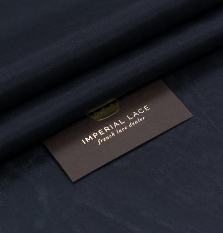 Black silk lining fabric . Photo 1
