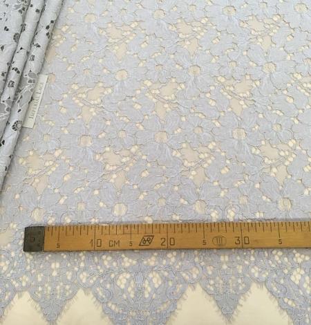 Gray lace fabric. Photo 5
