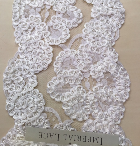 Ivory Lace Trim. Photo 3
