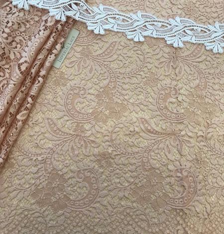 Powder lace fabric. Photo 4