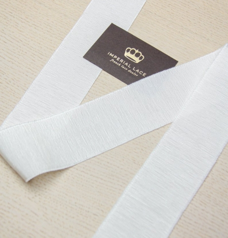 Ivory grosgrain ribbon . Photo 3