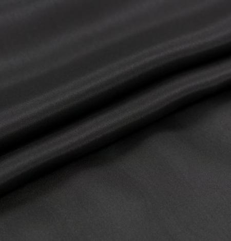 Black grey silk lining fabric . Photo 2