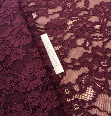 Lilac lase fabric. Photo 3