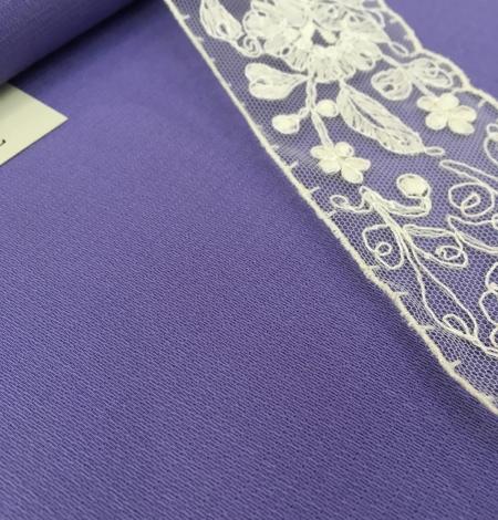 Lilac wool fabric. Photo 2