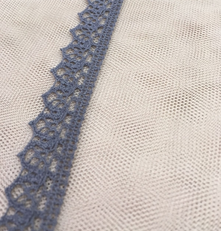Grey lace trimming. Photo 2