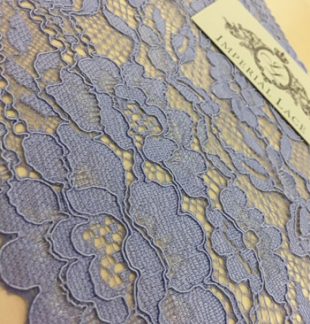 Light blue lace trim. Photo 4