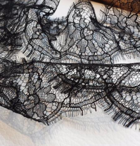 Solstiss black Lace trim. Photo 4