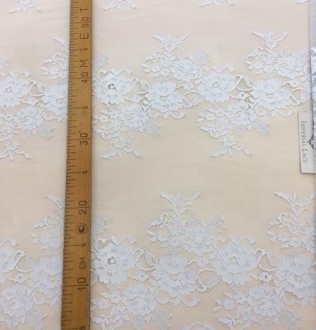 Gray lace fabric. Photo 8
