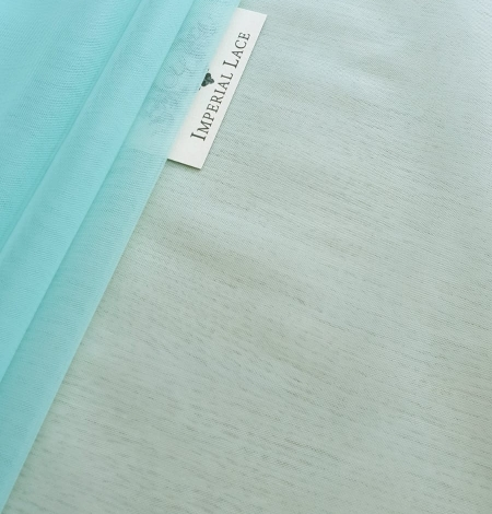 Tiffany blue tulle fabric. Photo 2