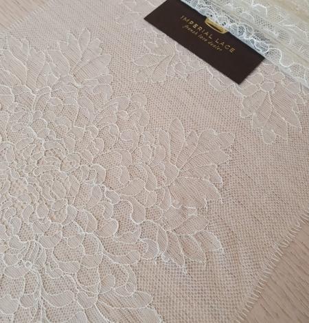 Light pistachio chantilly lace trimming . Photo 2