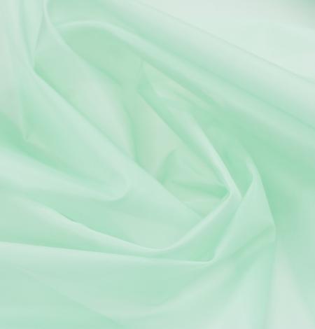 Lettuce green silk organza fabric. Photo 5