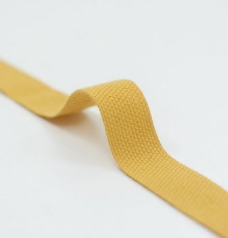 Mustard yellow decorative ribbon. Photo 4