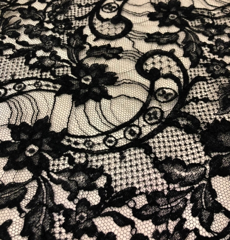 Black Solstiss lace trim. Photo 5