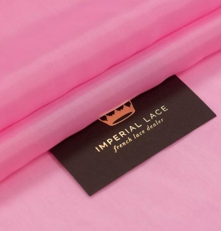 Pink vicose cupro lining fabric . Photo 1