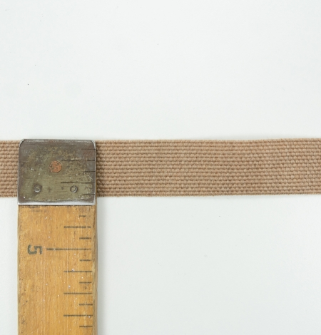 Brown lana wool ribbon . Photo 6