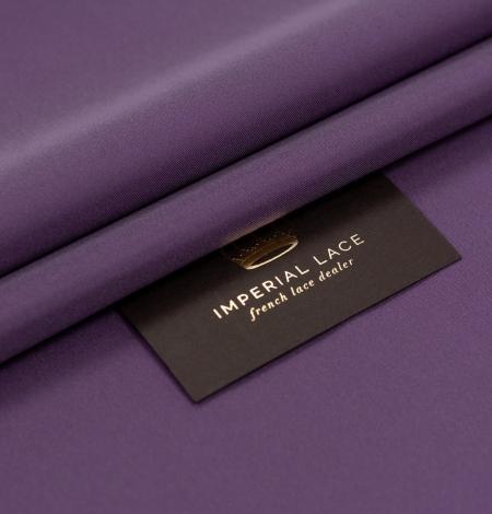 Lilac Brunelli viscose with elastane lining fabric . Photo 1
